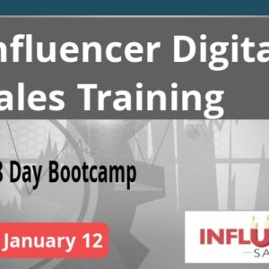 Influencer Sales January 12