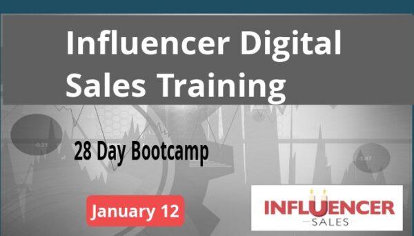 Influencer Sales January 12