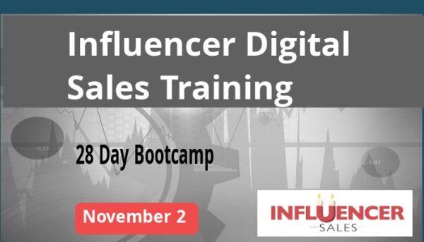 November 2 Influencer Sales